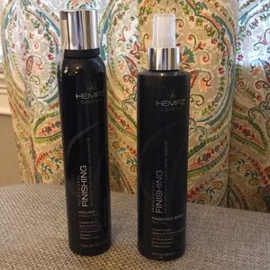 Hempz Couture Professional Finishing Spray&Mousse
